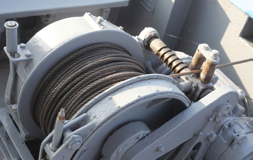 Spooling and Storage Winches