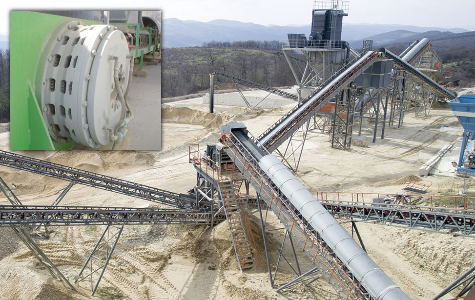 Wichita Clutch LI-SSB Brakes for Limestone Quarry Conveyors