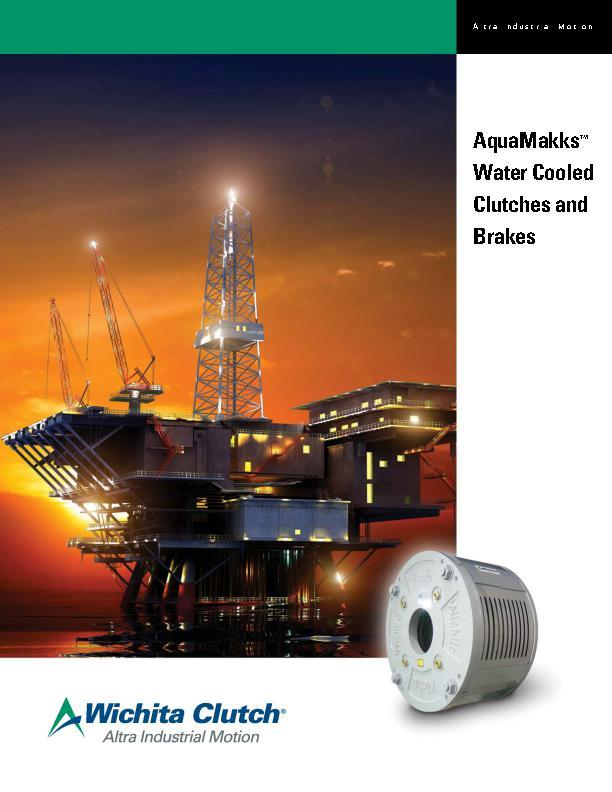 AquaMakks™ Water Cooled Clutches & Brakes