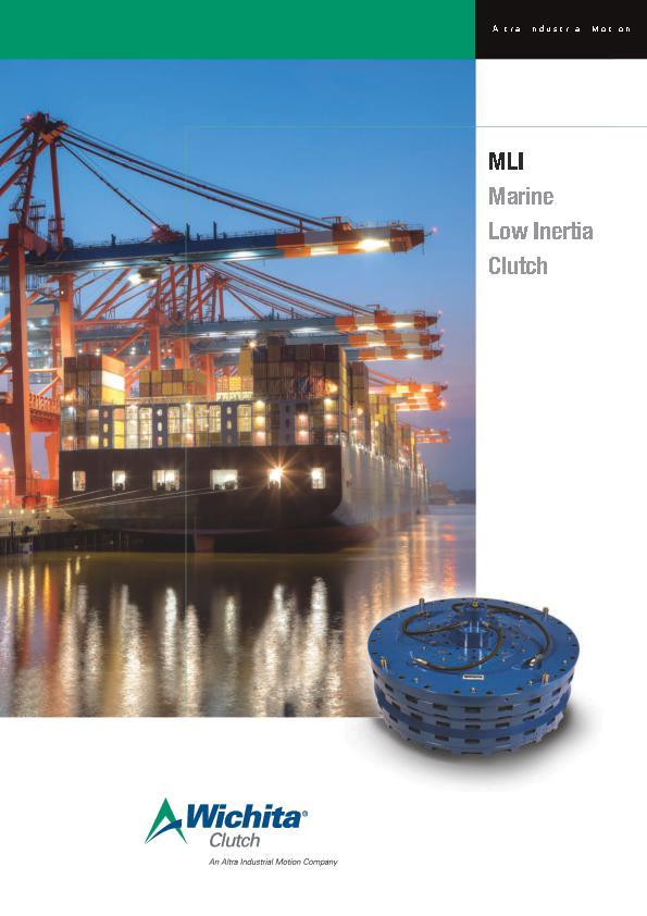 (A4) MLI Marine Low Inertia Clutch